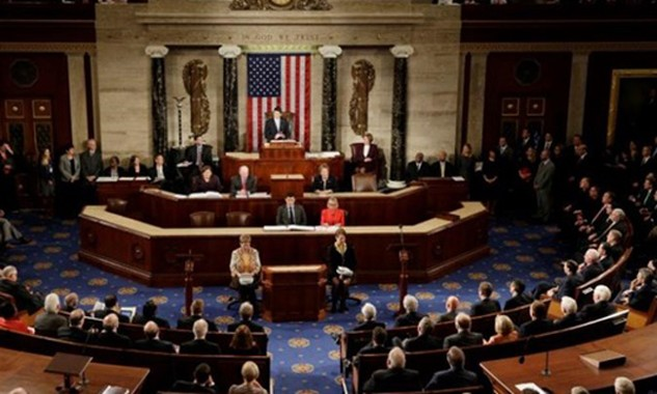 Hạ viện Mỹ. Ảnh:Reuters.
