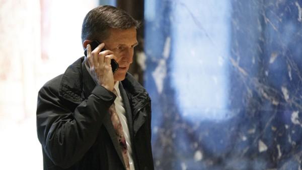 Michael Flynn, người được ông Trump chỉ định giữ vị trí cố vấn an ninh quốc gia. Ảnh:AP