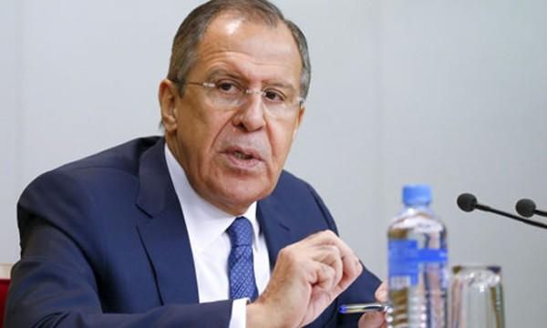 Ngoại trưởng Nga Sergei Lavrov. Ảnh:Reuters