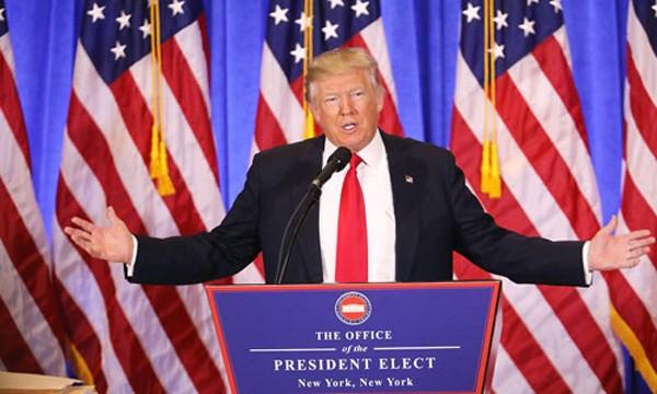 Tổng thống Mỹ đắc cử Donald Trump sẽ nhậm chức vào ngày mai. Ảnh:TVguide