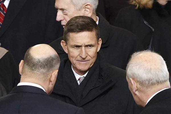 Cố vấn an ninh quốc gia Michael Flynn. Ảnh:Reuters.