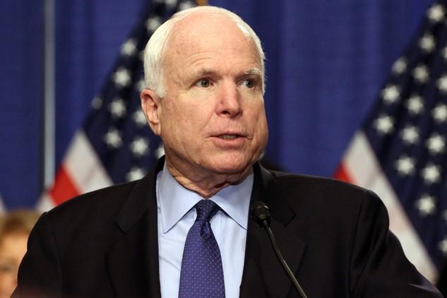 Thượng nghị sĩ John McCain. (Ảnh: AFP)