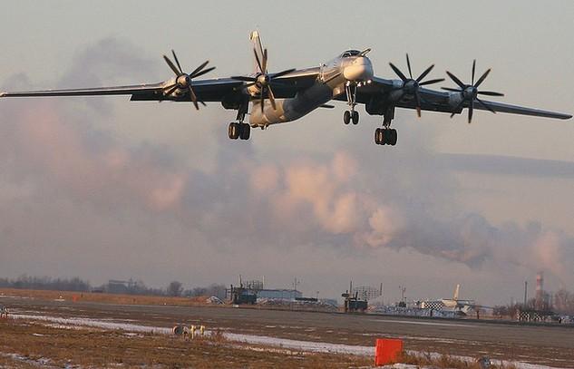 Một máy bay Tu-95. (Ảnh: TASS)