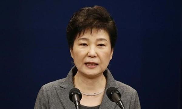 Tổng thống Hàn Quốc Park Geun-hye. Ảnh:Reuters