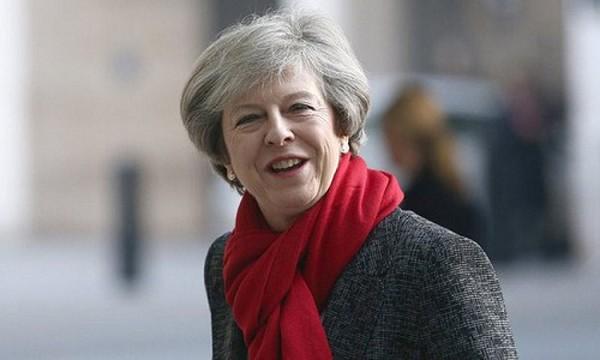 Thủ tướng Anh Theresa May. Ảnh:The Guardian