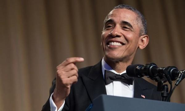Cựu tổng thống Mỹ Barack Obama. Ảnh:AFP