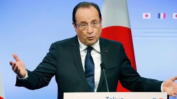 Tổng thống Pháp Francois Hollande. Ảnh:AFP