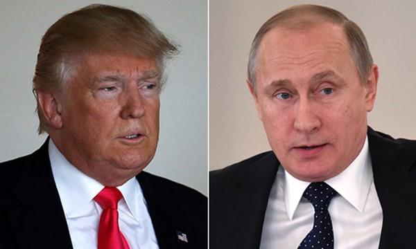 Tổng thống Mỹ Donald Trump và Tổng thống Nga Vladimir Putin. Ảnh:Reuters.