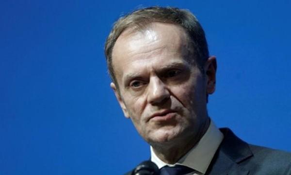 Chủ tịch EU Donald Tusk chỉ trích chính quyền mới của Tổng thống Mỹ Donald Trump. Ảnh:Reuters