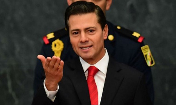 Tổng thống MexicoEnriquePeña Nieto. Ảnh:AFP