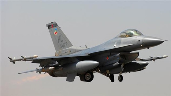 Chiến đấu cơ F-16 của không quân Mỹ. Ảnh:AP