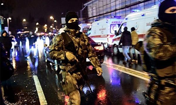 Cảnh sát đặc nhiệm Thổ Nhĩ Kỳ. Ảnh:Reuters
