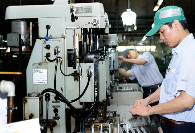 Vốn FDI vào ngành công nghiệp chế biến, chế tạo trong tháng 1/2017 đạt 1,013 tỷ USD, chiếm 71,2% tổng vốn đăng ký. Ảnh: Lê Tiên
