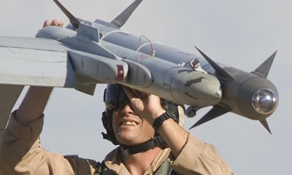 Tên lửa AIM-9X-2 Sidewinder. Ảnh:Raytheon.