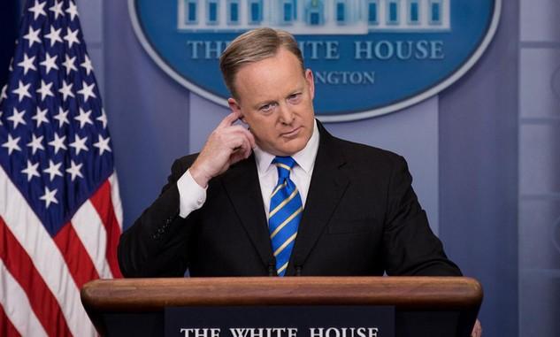 Người phát ngôn Nhà Trắng Sean Spicer (Ảnh: Getty)