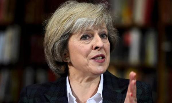 Thủ tướng Anh Theresa May quyết tâm thúc đẩy Brexit. Ảnh:Reuters