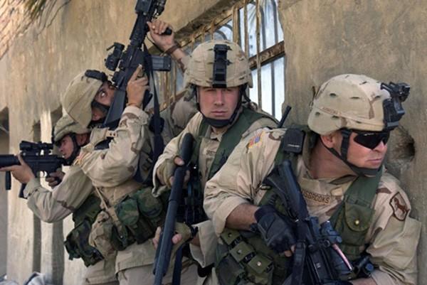 Lực lượng đặc nhiệm Mỹ. Ảnh:UPI