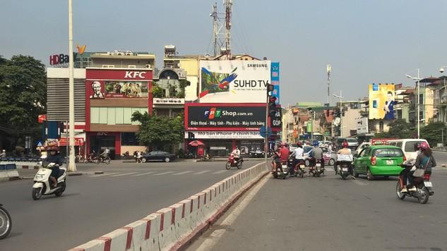 Dự án Xây dựng cầu vượt tại nút giao An Dương - đường Thanh Niên là một trong 8 dự án giao thông tại Hà Nội được Thủ tướng cho phép áp dụng hình thức giao thầu vì lý do cấp bách. Ảnh: Minh Tuấn