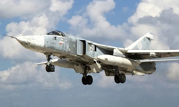 Máy bay Su-24 của Nga. Ảnh:RT.
