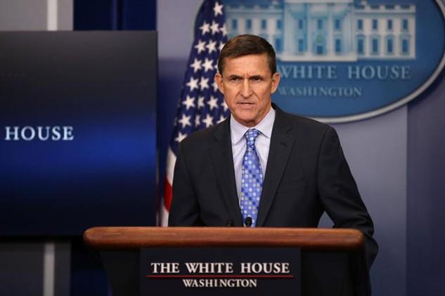 Cố vấn An ninh Quốc gia Michael Flynn (Ảnh: AFP)