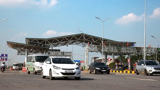 Hệ thống thu phí 1 dừng của Dự án Quốc lộ 1 đoạn Hà Nội - Bắc Giang hoạt động chưa ổn định, còn nhiều lỗi. Ảnh: Quang Tuấn
