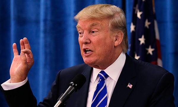 Tổng thống Mỹ Donald Trump. Ảnh:AP