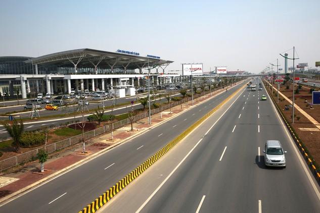 Gói thầu Tư vấn khảo sát, thiết kế kỹ thuật Dự án Đầu tư xây dựng đường nối từ sân bay Nội Bài đến cầu Nhật Tân đạt Giải thưởng công trình chất lượng cao. Ảnh: Lê Tiên