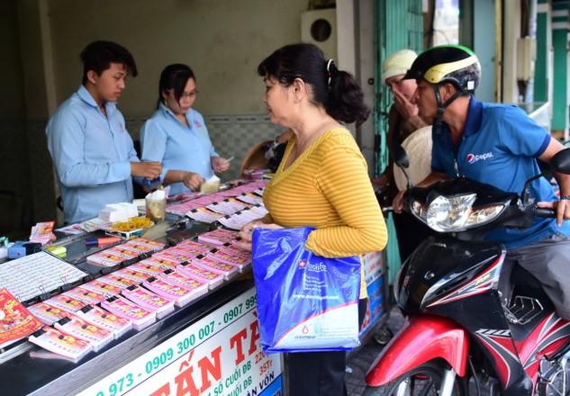 Phát hành xổ số kiến thiết là 1 trong 20 ngành nghề được Bộ Công thương đề nghị độc quyền nhà nước - Ảnh: H.Thuận