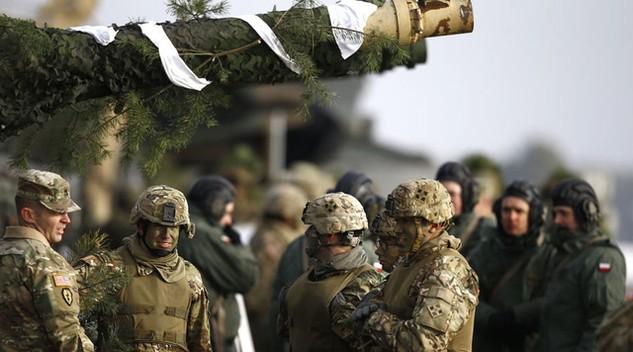 Các đơn vị Mỹ tại Ba Lan. (Ảnh: Reuters)
