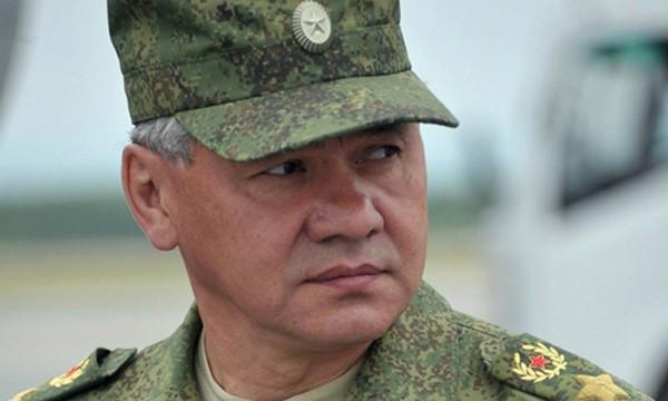 Bộ trưởng Quốc phòng Nga Sergei Shoigu. Ảnh:Sputnik.