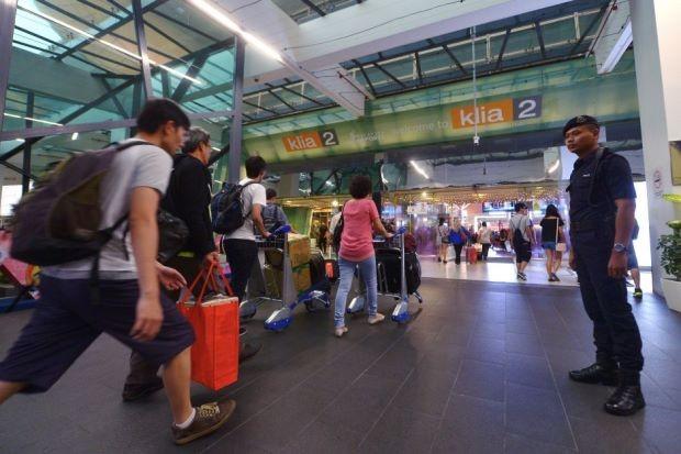An ninh đã được tăng cường tại các sân bay ở Malaysia (Ảnh: The Star)