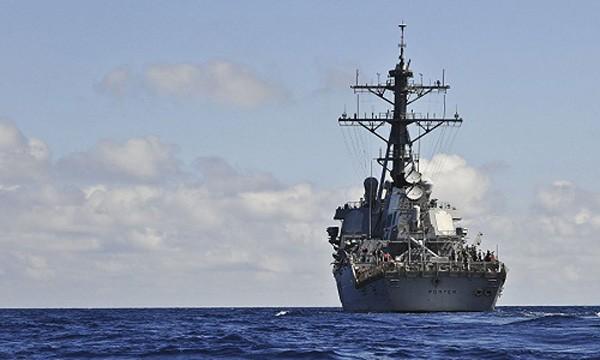 Tàu khu trục DDG-78 USS Porter của Mỹ tại Biển Đen. Ảnh:Sputnik