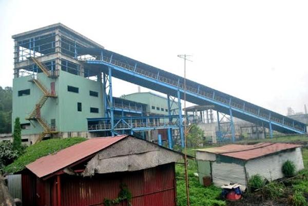 Dự án mở rộng giai đoạn 2 Nhà máy Gang thép Thái Nguyên đang dang dở.Ảnh:H.D