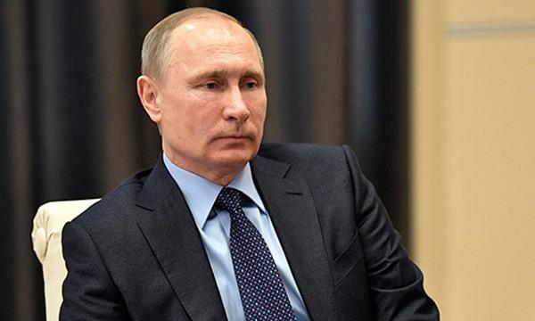 Tổng thống Nga Vladimir Putin. Ảnh:Sputnik