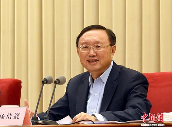 Ông Dương Khiết Trì, ủy viên Quốc vụ viện đặc trách đối ngoại và vấn đề Đài Loan của Trung Quốc. Ảnh:China news