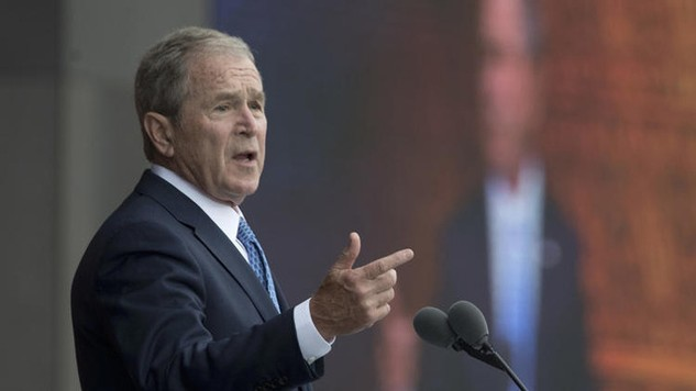 Cựu Tổng thống Mỹ George W. Bush. (Ảnh: Getty)