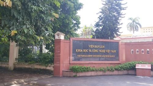 Viện Hàn lâm Khoa học và Công nghệ Việt Nam (Ảnh: VTC).