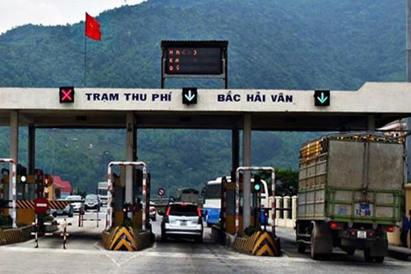 Trạm thu phí Bắc Hải Vân bị kiểm tra, giám sát đợt này. Ảnh: Thời báo Tài chính Việt Nam