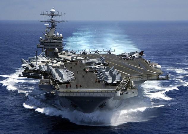 Tàu sân bay USS Carl Vinson của Mỹ (Ảnh: Maritime Quest)