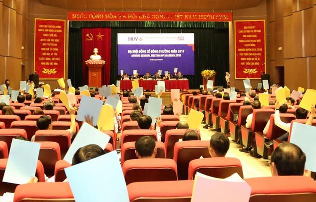 BIDV tổ chức Đại hội đồng cổ đông thường niên năm 2017