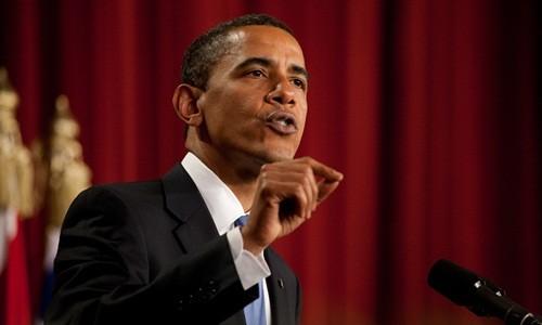 Tổng thống Mỹ Barack Obama. Ảnh:AFP