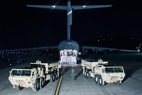 Mỹ và Hàn Quốc tranh cãitrong bối cảnh căng thẳng ở bán đảo Triều Tiên chưa dịu xuống. Ảnh:AFP