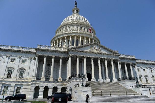 Quốc hội Mỹ thông qua dự luật chi tiêu ngân sách tạm thời chính nguy cơ đóng cửa chính phủ. (Ảnh: Getty)