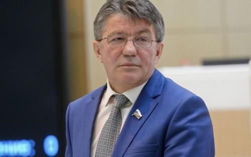 Chủ tịch Ủy ban Quốc phòng thuộc Quốc hội Nga Viktor Ozerov. Ảnh:Sputnik.