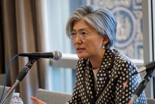 Bà Kang Kyung-wha (Ảnh: Korea Post)