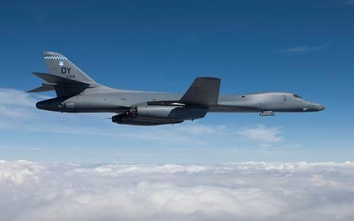 B-1B là một trong ba oanh tạc cơ hạt nhân chiến lược của Mỹ. Ảnh:Boeing.