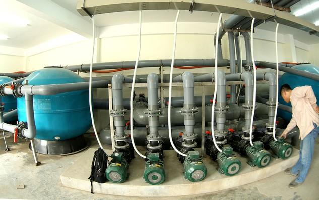Gói thầu BDAF - 06 thuộc Dự án Hệ thống thoát nước và xử lý nước thải khu vực Dĩ An (Bình Dương). Ảnh: Uông Lợi