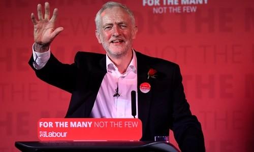 Lãnh đạo Công đảng Anh Jeremy Corbyn. Ảnh:Reuters.