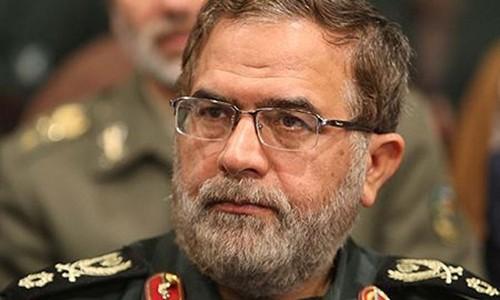 Phó tham mưu trưởng Các lực lượng vũ trang Iran Mostafa Izadi. Ảnh:Al Arabiya.