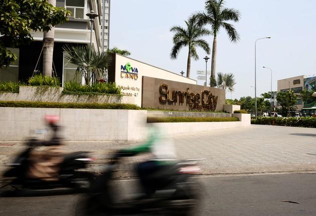 Một trong những dự án bất động sản tiêu biểu của Novaland là Sunrise City. Ảnh: Lê Tiên